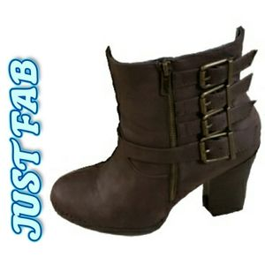 """Brown """"suede"""" boots"""